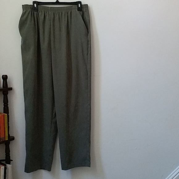 Baxter & Wells Dress Pants Plus Size 18 Pull On